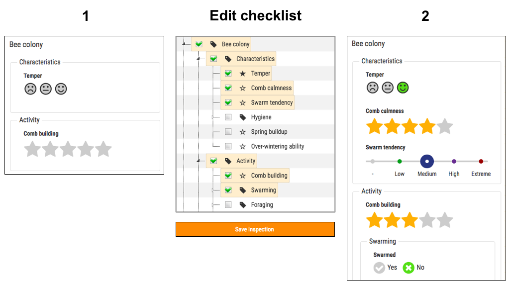 Checklist edit 3steps